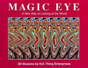 book-magic-eye book