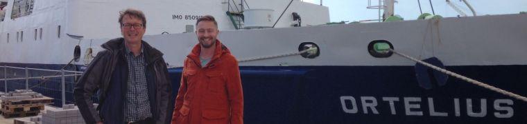 Ortelius, start van de expeditie Arctic Marine Litter