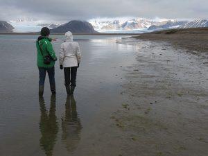 Uitkijken over de Krossfjorden