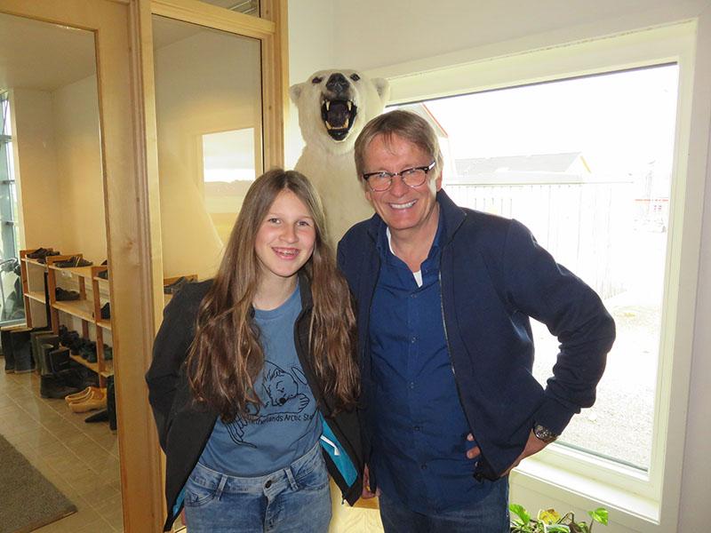 Geir Gabrielson en Mare, interview over klimaatverandering