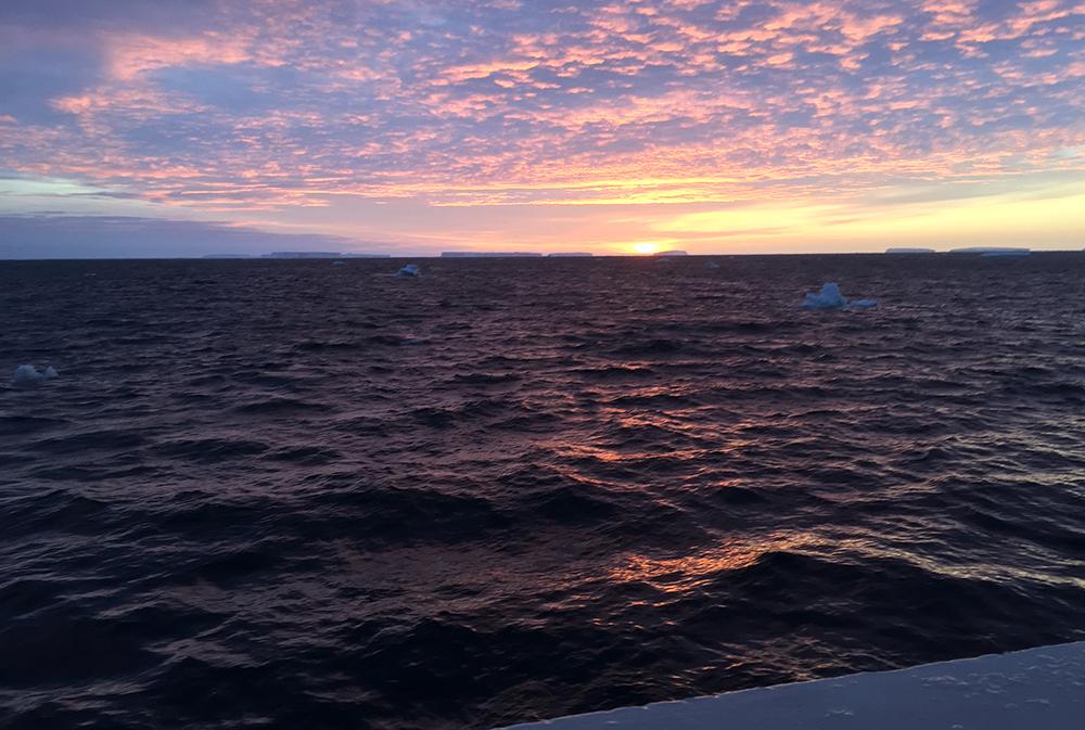 IJsbergen aan de horizon. We zijn terug (© Fokje Schaafsma/FAJ)