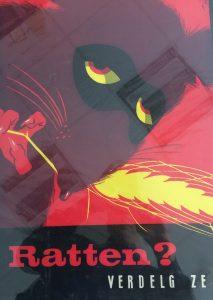 jaren '60 poster- Ratten? Verdelg ze