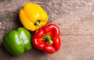 Meest gegeten kleur paprika
