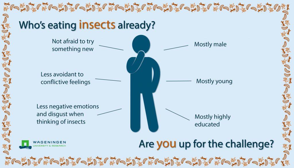 Insecten eten walging naar waardering